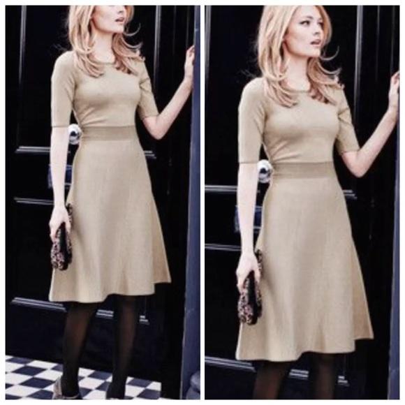 Boden Dresses Milano Metallic Sweater Dress Poshmark